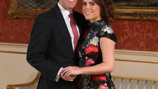 Eis as fotografias oficiais do noivado da princesa Eugenie