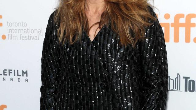Catherine Keener foi aos SAG Awards… mas não passou da entrada