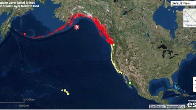 Aviso de tsunami após sismo de magnitude superior a 8 no Alasca