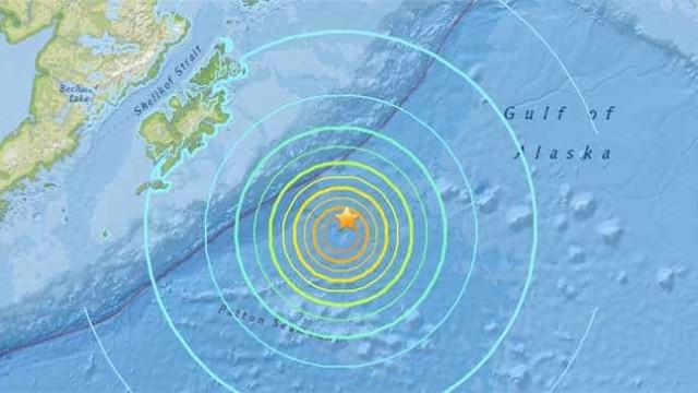 Autoridades cancelam alerta de tsunami após sismo no Alasca