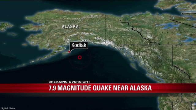 Alerta de tsunami cancelado no Alasca e restante litoral norte-americano