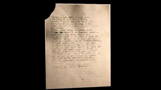 Esta carta pode ser a prova de que fugitivos de Alcatraz sobreviveram