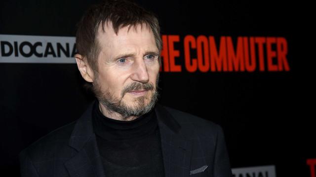 Liam Neeson, um 'Passageiro' sentado na liderança do box-office