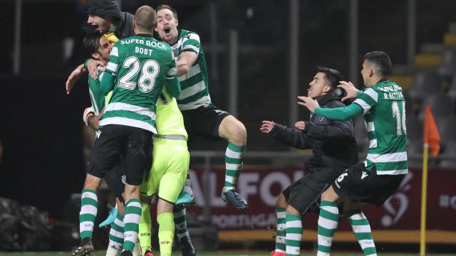 Lotaria nas grandes penalidades garante lugar na final ao Sporting