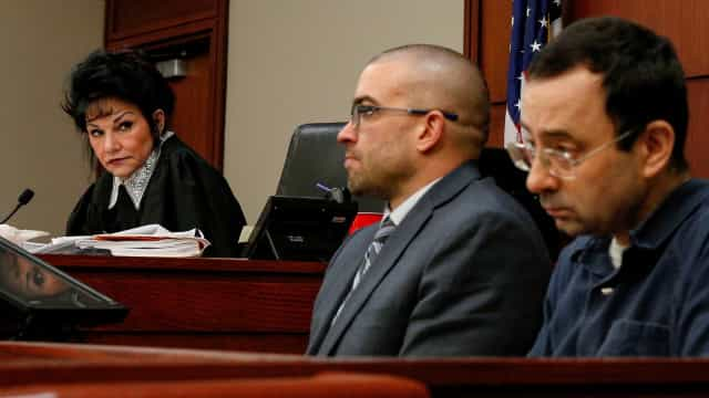 Juíza que condenou Nassar criticada por desejar que este fosse violado