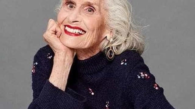 Modelo mais velha do mundo é cara de campanha de cosmética