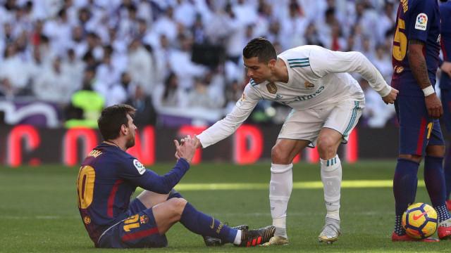 """""""É bom ter partilhado a Bola de Ouro com Messi nos últimos anos"""""""