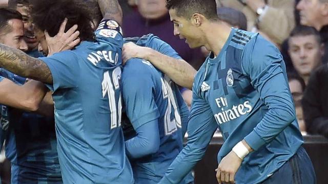 O gesto de Cristiano Ronaldo que está a dar que falar na internet