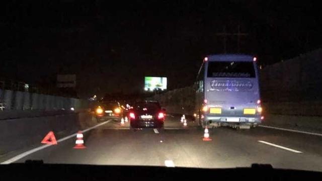 Acidente na A1 faz quilómetros de fila à entrada de Lisboa