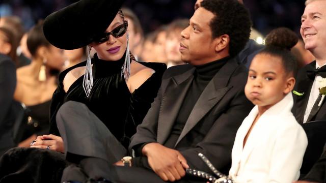 Blue Ivy 'manda' os pais, Beyoncé e Jay Z, acalmarem-se em momento único