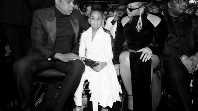 Aos seis anos de idade, filha de Beyoncé e Jay Z brilhou nos Grammys
