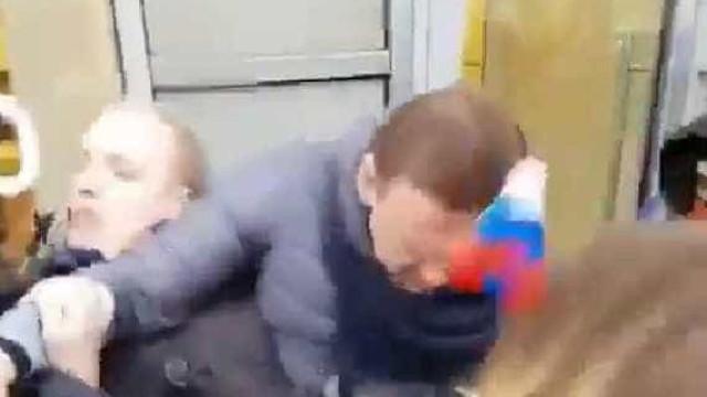 As imagens da detenção do opositor de Putin que estão a correr mundo