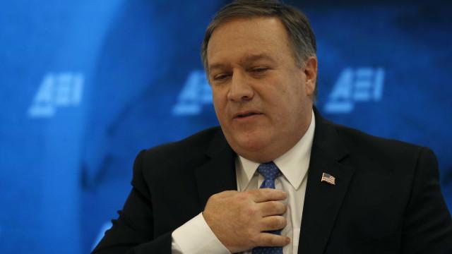 """Mike Pompeo diz que houve """"progressos"""" com Coreia do Norte"""