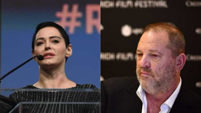 """Rose McGowan deixa mensagem a Weinstein: """"Disse-te que ia acabar contigo"""""""