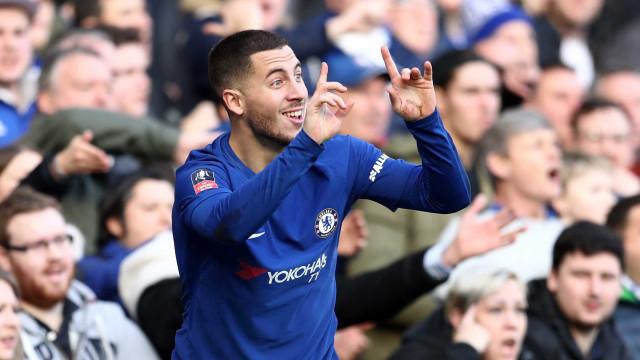 Barcelona dá dinheiro e Dembélé por Hazard