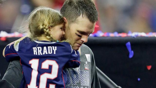 """Tom Brady: Chamaram a filha de """"pirralha irritante"""" e ele respondeu assim"""