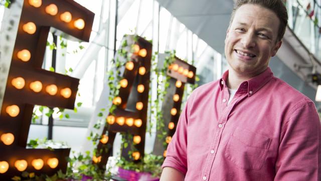Jamie Oliver foi 'acusado' de traição... por ir apanhar curgetes