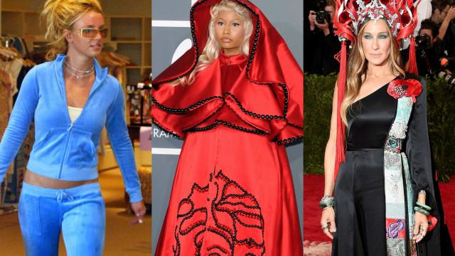 Os piores momentos de moda das celebridades