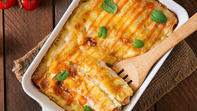 Sem ideias para o jantar? Aprenda a fazer canelones de queijo