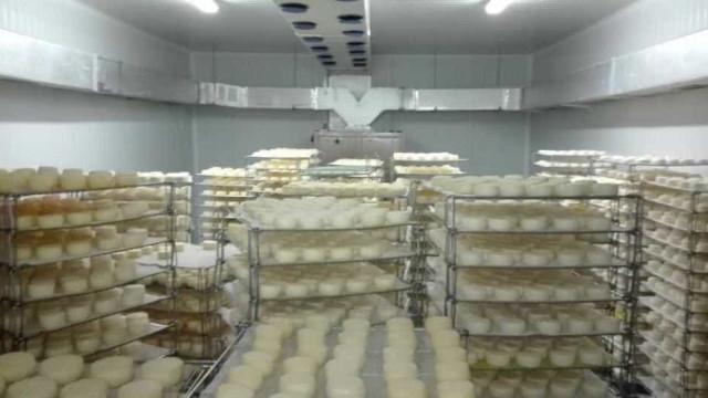 Mais de 30 mil queijos curados apreendidos em Borba
