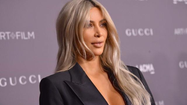 Divulgadas primeiras fotografias de Kim Kardashian com a filha mais nova