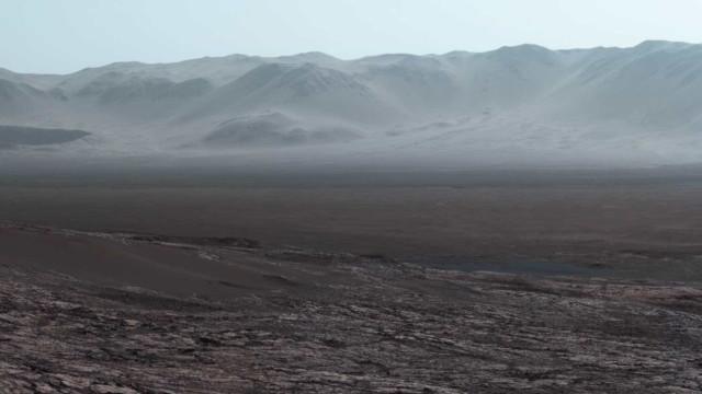 Tem um minuto? Admire a fotografia mais bela de Marte