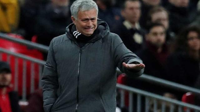 """Mourinho perde e arrasa equipa: """"É ridículo"""""""