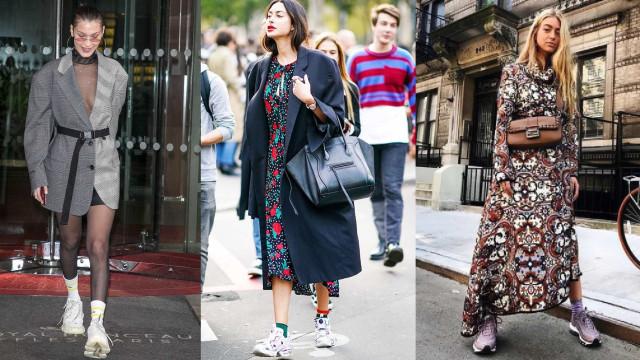 Tendências de Paris: o hugly sneaker