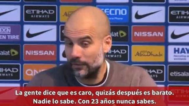 """Laporte estreou-se e Guardiola adorou: """"Uau! Que central fomos buscar!"""""""