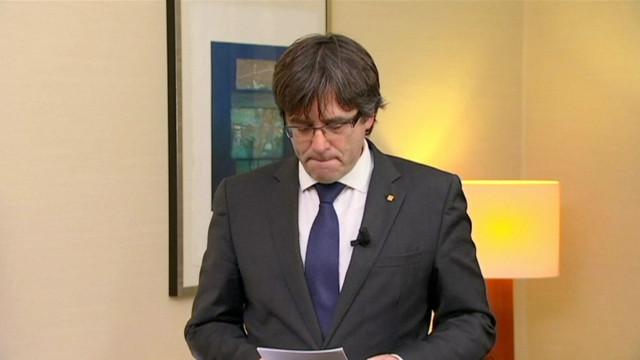 Puigdemont defende negociação de referendo com Governo espanhol