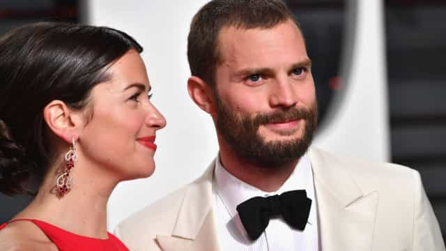 Jamie Dornan revela que a mulher nunca viu 'As Cinquenta Sombras de Grey'