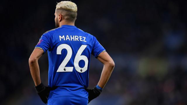 Mahrez surpreende mundo do futebol com mensagem de 'adeus'
