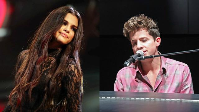 Charlie Puth fala pela primeira vez de romance com Selena Gomez