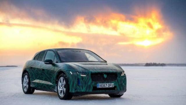 Jaguar I-Pace: O SUV 100% elétrico