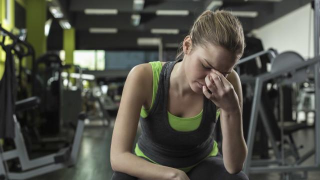 Porque ficamos com dores de cabeça depois de treinar?