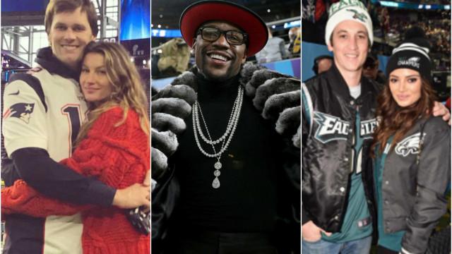Os famosos que marcaram presença no Super Bowl 2018