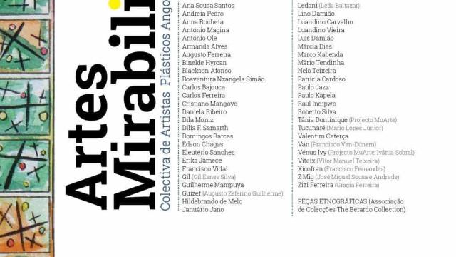 Mais de 50 artistas plásticos angolanos na exposição 'Artes Mirabilis'