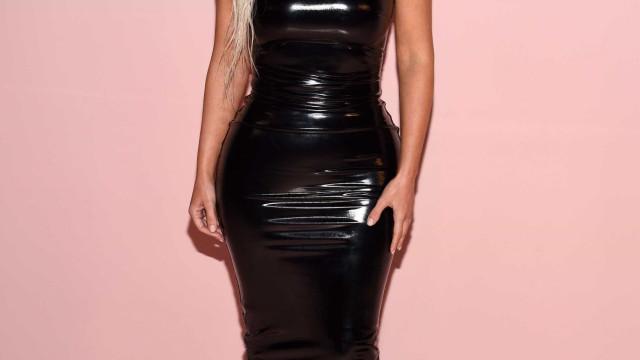 Nova Foto: Kim Kardashian volta a mostrar o rosto da terceira filha