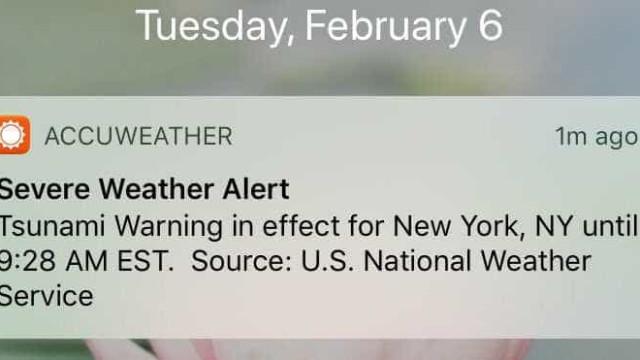 Falso alarme de tsunami espalha pânico nos Estados Unidos