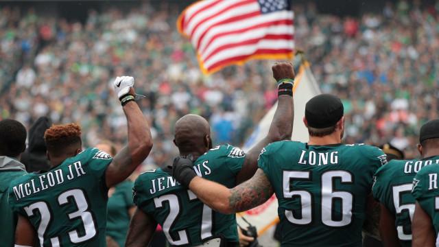 Alguns jogadores dos Eagles não vão participar na visita à Casa Branca