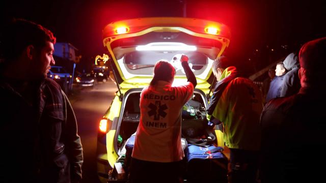 Um ferido grave em atropelamento em Almada