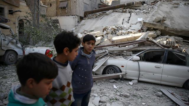 Síria: Conselho de Segurança perto de acordo para um cessar-fogo