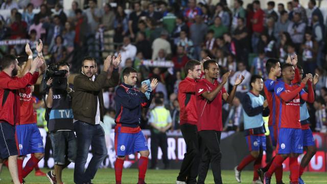 Oleiros arrisca-se a deixar os nacionais após a epopeia com o Sporting
