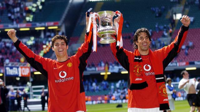 """""""Todos viam que o Van Nistelrooy tinha um problema com o Cristiano"""""""