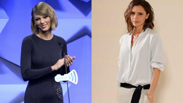A foto em que a gata de Taylor Swift foi comparada a Victoria Beckham