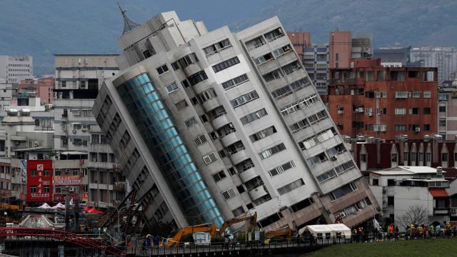 Último balanço do sismo em Taiwan indica dez mortos e sete desaparecidos