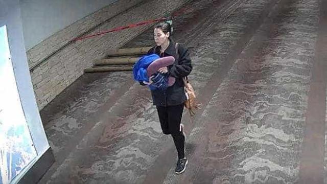 Deu à luz em aeroporto e abandonou bebé com bilhete a pedir ajuda