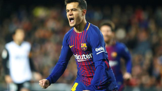 Barcelona quer Coutinho com passaporte português o mais rápido possível