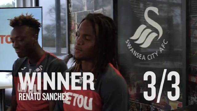 Swansea promove concurso gastronómico e Renato Sanches sagra-se vencedor
