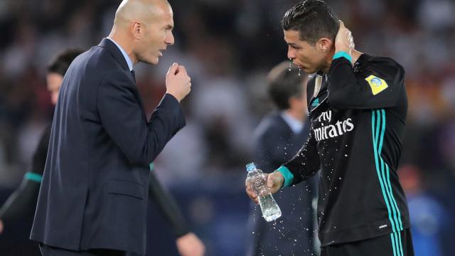 O conselho de Zidane que motivou a 'explosão' de Cristiano Ronaldo